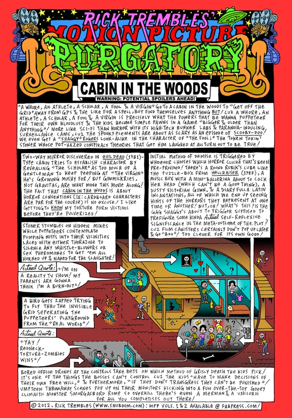 Motion Picture Purgatory: The Cabin in the Woods