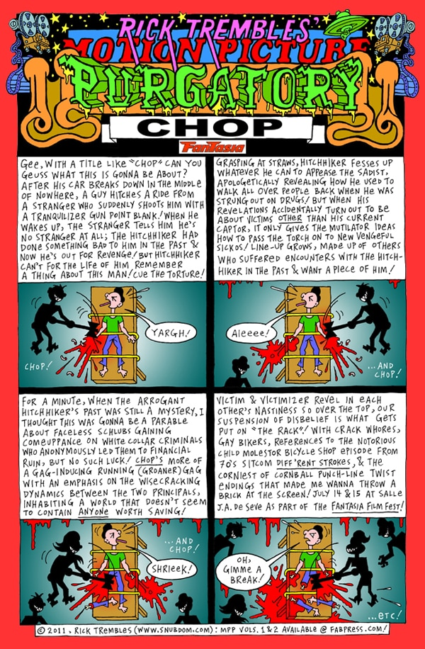 Rick Trembles' Chop review