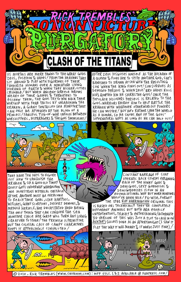 Rick Trembles' Clash of the Titans review!