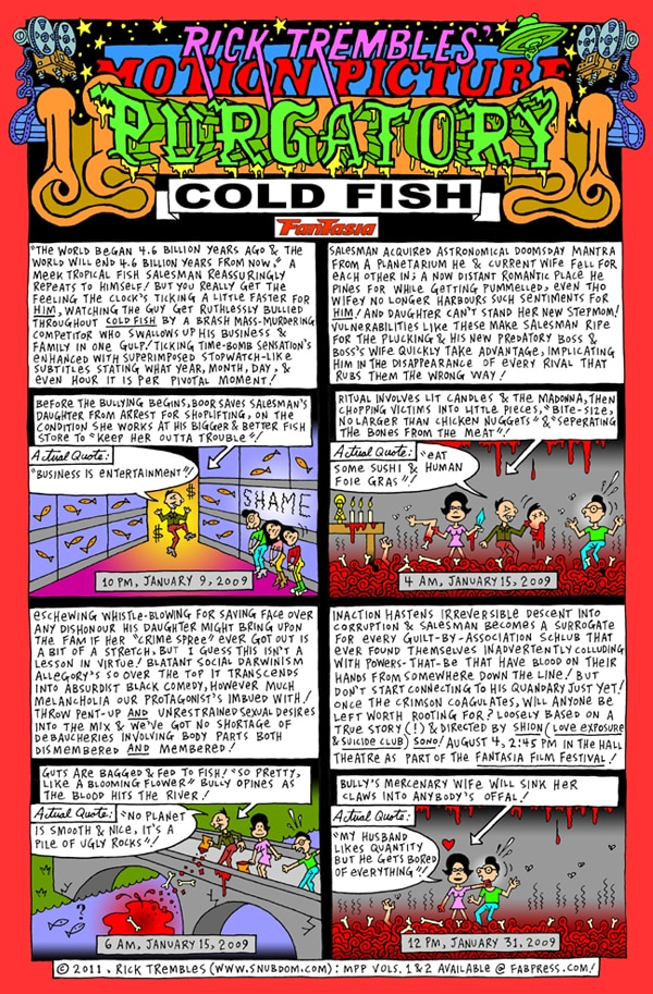 Rick Trembles' Cold Fish review