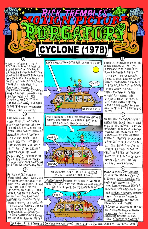 Rick Trembles' Cyclone review!