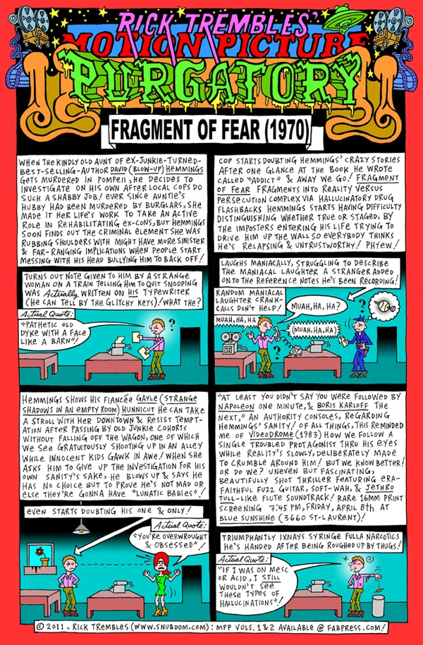 Rick Trembles' Fragment of Fear review