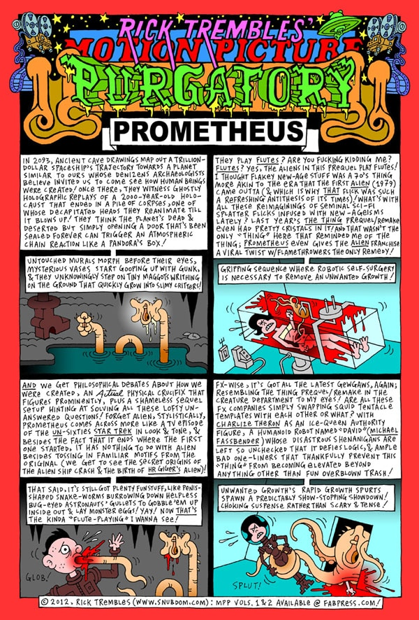 Motion Picture Purgatory: Prometheus