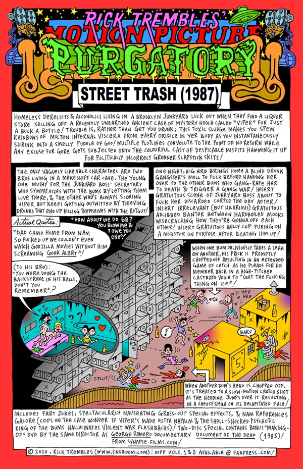 Rick Trembles' Street Trash review!