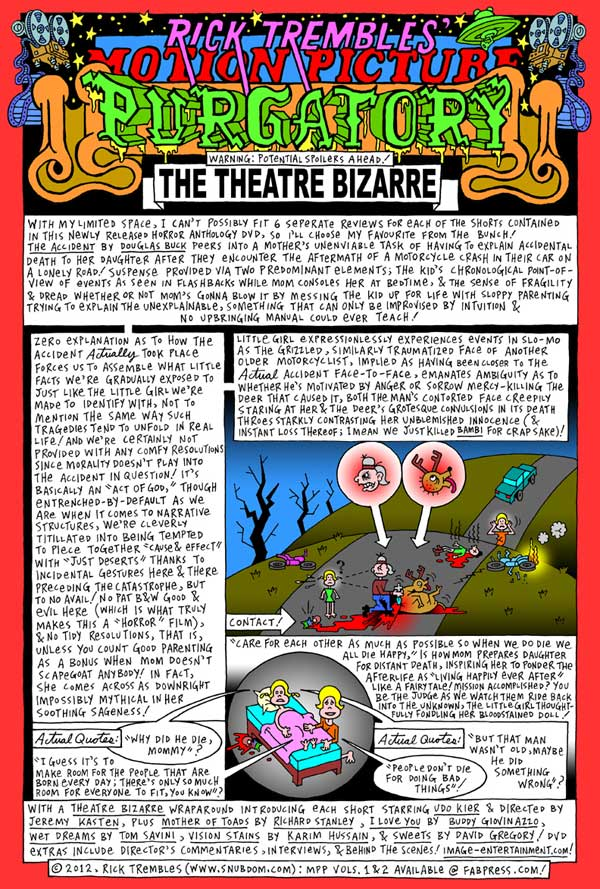 Motion Picture Purgatory: The Theatre Bizarre