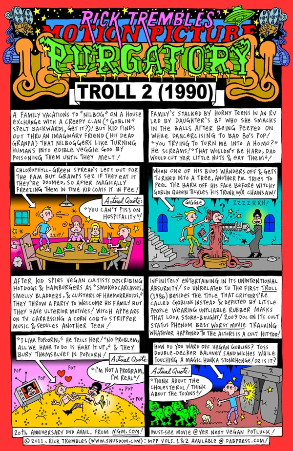 Rick Trembles' Troll 2 review