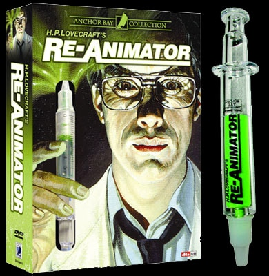 Anchor Bay's new release of Re-Animator!