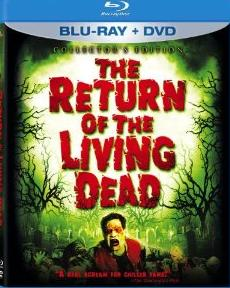 Return of the Living Dead on Blu-ray DVD