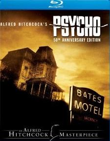Psycho (50th Anniversary Edition) Blu-ray DVD