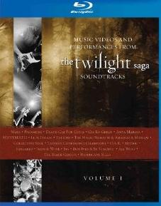 Music Videos and Performances from The Twilight Saga Soundtracks, Vol. 1 (Music Videos) on DVD