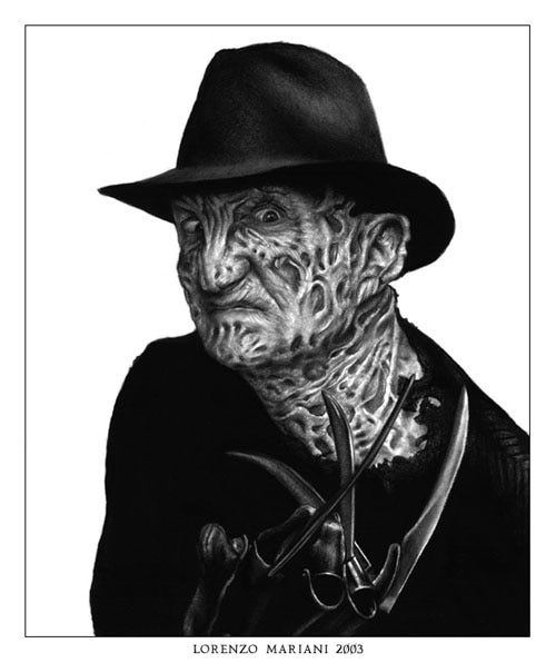 44 Amazing Works of Art Inspired by Freddy Krueger