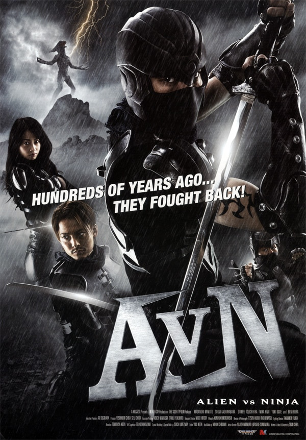 AVN: Aliens vs. Ninja - No Matter Who Wins We Eat Sushi