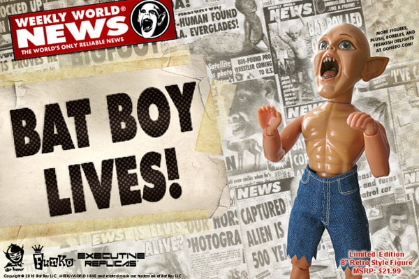 Bat Boy Lives! ... In Plastic!