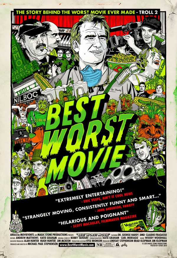 Best Worst Movie on DVD