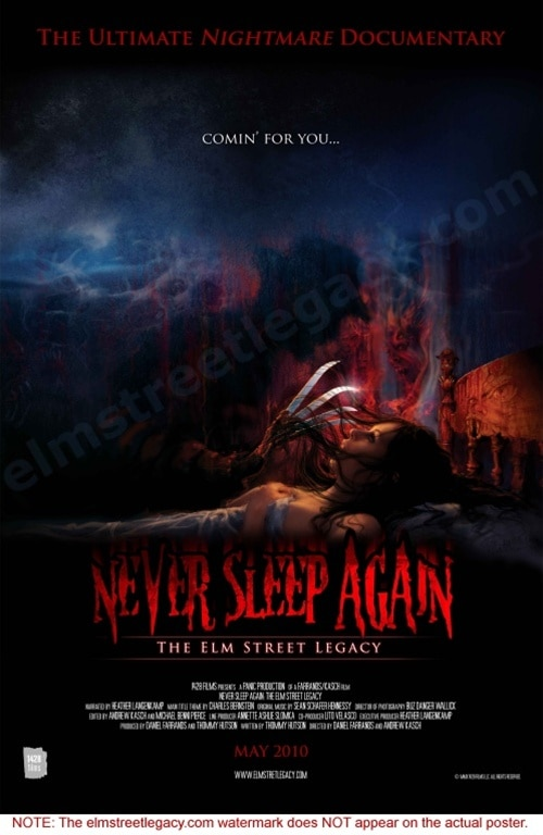 Order Your Copy of Never Sleep Again: The Elm Street Legacy NOW and Get So Much More!