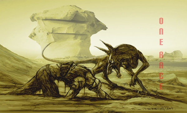New Concept Art from Third Riddick Film