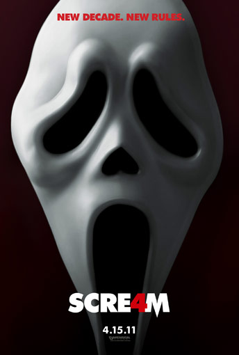 Ghostface Ready to Strike in Latest Scream 4 Image
