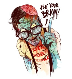 Like Zombies and T-Shirts? Win a Prize Pack Filled with Both!