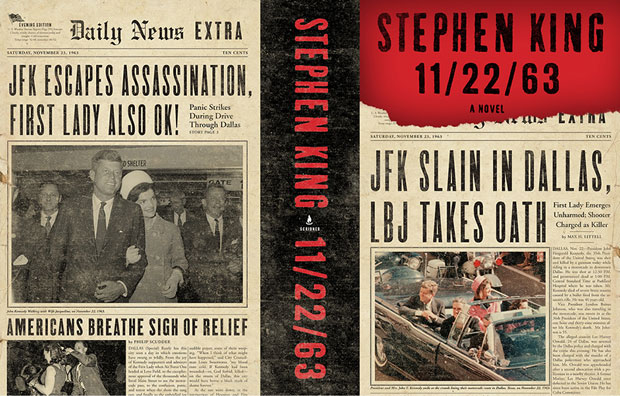 Cover Art Unveiled for Stephen King's 11/22/63