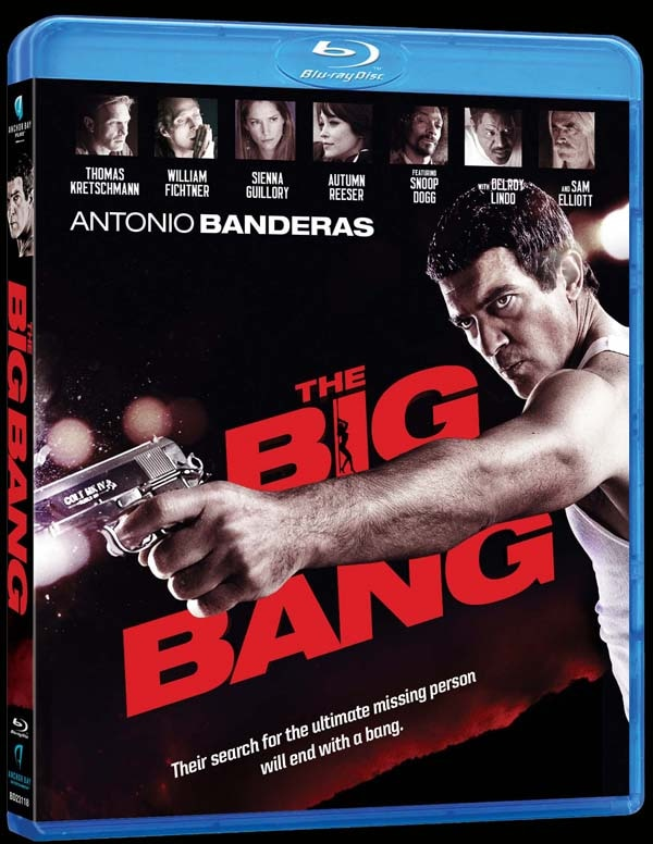 Antonio Banderas Makes a Big Bang on Blu-ray and DVD