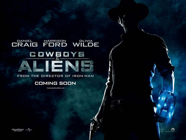 New Cowboys and Aliens Trailer Rustles Up Some Invasion-Themed Fun