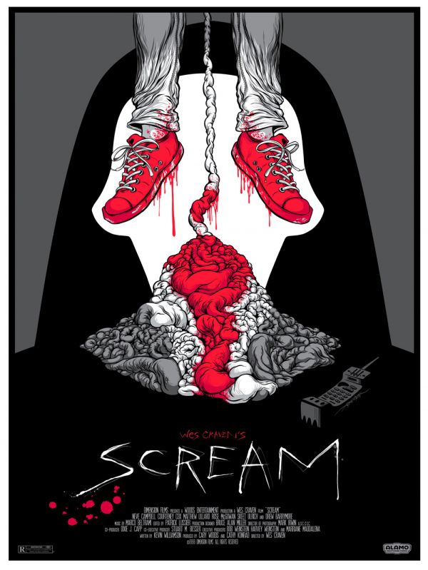 Mindblowing New Scream and A Nightmare on Elm Street One-Sheets