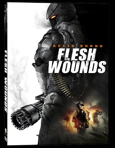 Treat Kevin Sorbo's Flesh Wounds with Your DVD Player This July