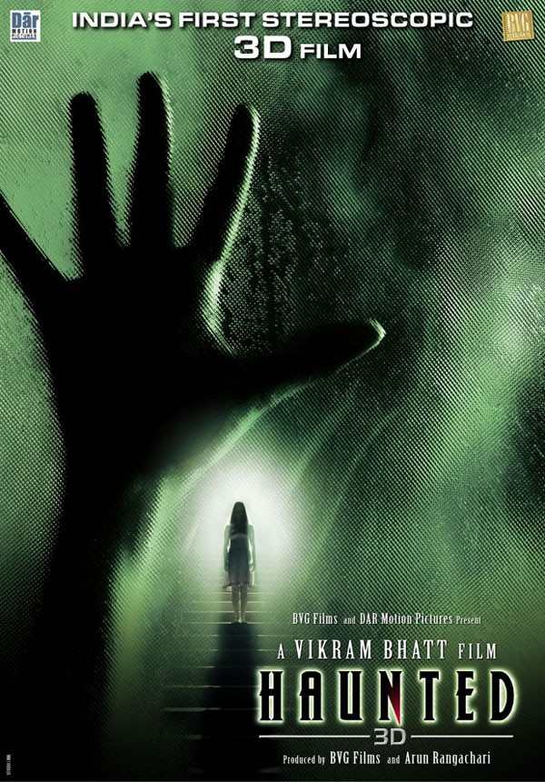 U.S. One-Sheet Debut and Release Info: Vikram Bhatt's Haunted 3D