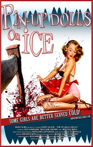 Had Your Fix of Dead Bikini Girls? How About Some Pin-up Dolls on Ice Instead?