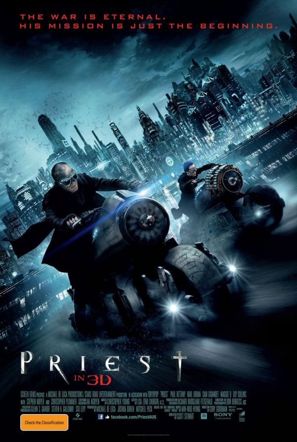 New Priest One-Sheet Speeds our Way