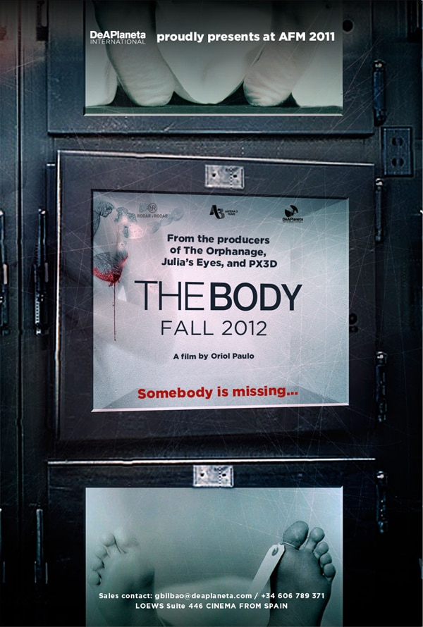 First Images and Sales Trailer for The Body (El Cuerpo)