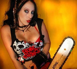 Dread Central's Online Film Screening Series on Constellation.tv Presents The Chainsaw Sally Show Season 2, Part 1, With JimmyO and April Burril