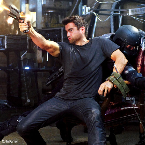 Two New Stills From Total Recall Sit Back and Take Aim