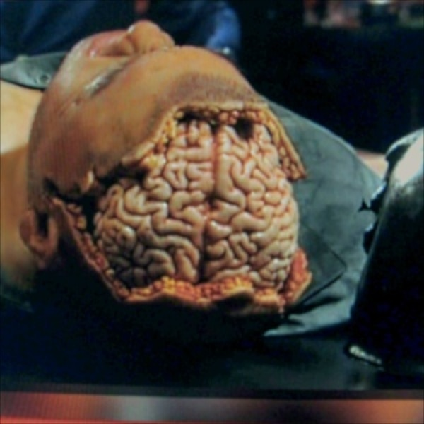 A Brainy Behind-the-Still from Frankenstein's Army