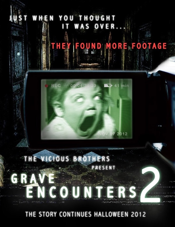 New Director and Sales Art for Grave Encounters 2