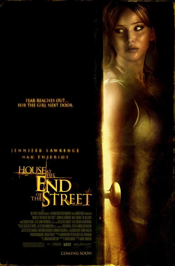 Better Look at the One-Sheet for The Hunger Games' Jennifer Lawrence's New Flick, The House at the End of the Street