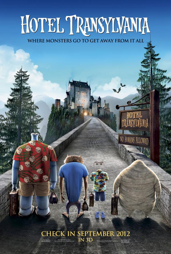 New Hotel Transylvania Posters Finally Get Funny