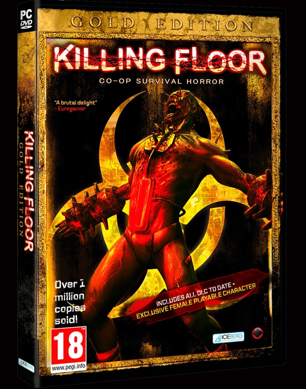 Killing Floor Goes Gold
