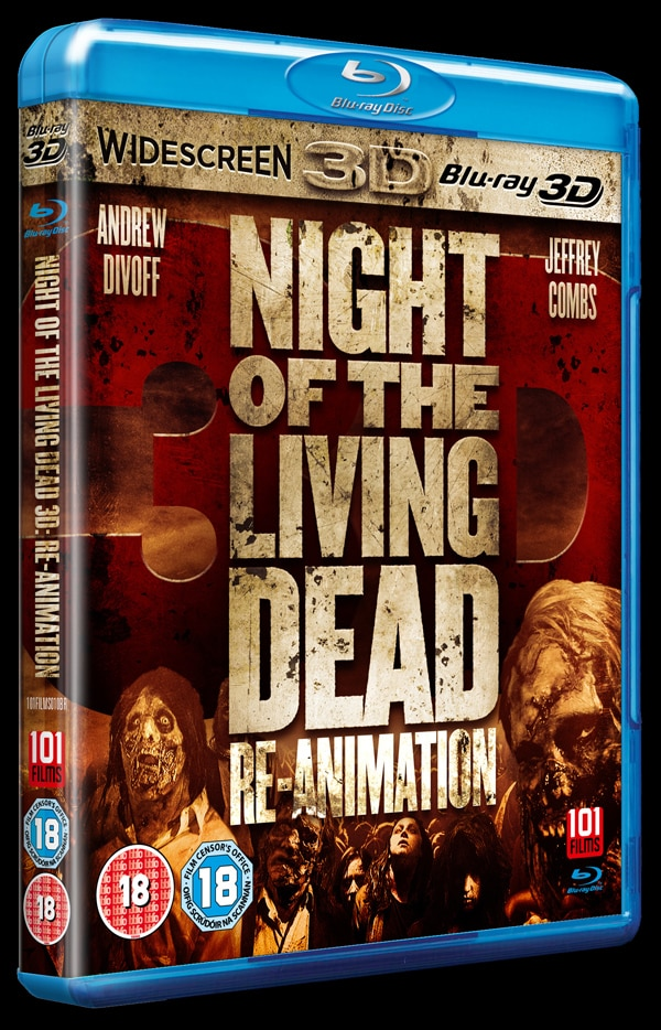 Check Out Some Scenes from Night of the Living Dead 3D: Re-Animation in 2D and 3D; Official Site Launches