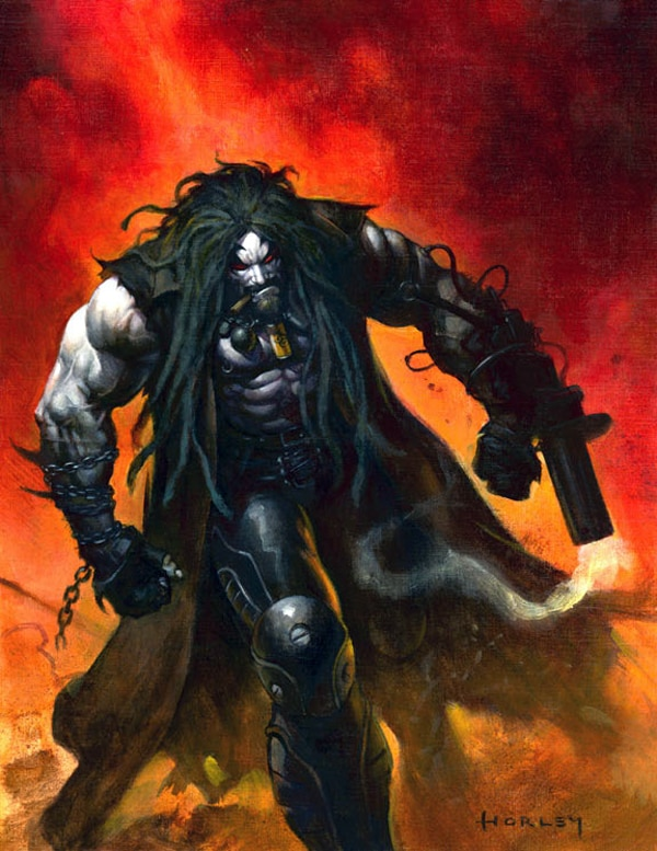 The Rock Playing Lobo?