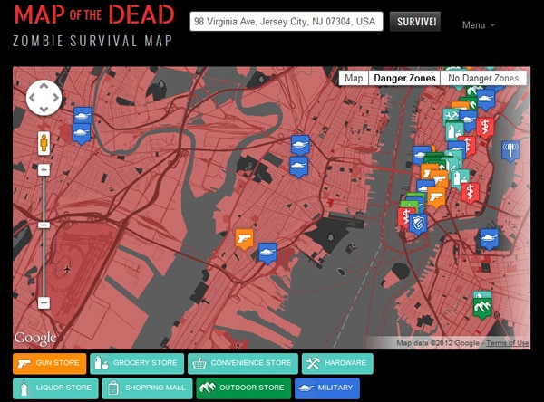 Zombie Apocalypse? ... Yeah,There's An App For That