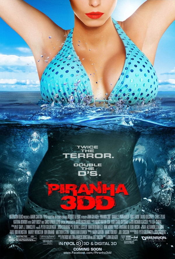 More Piranha 3DD Clips Come Running to the Rescue