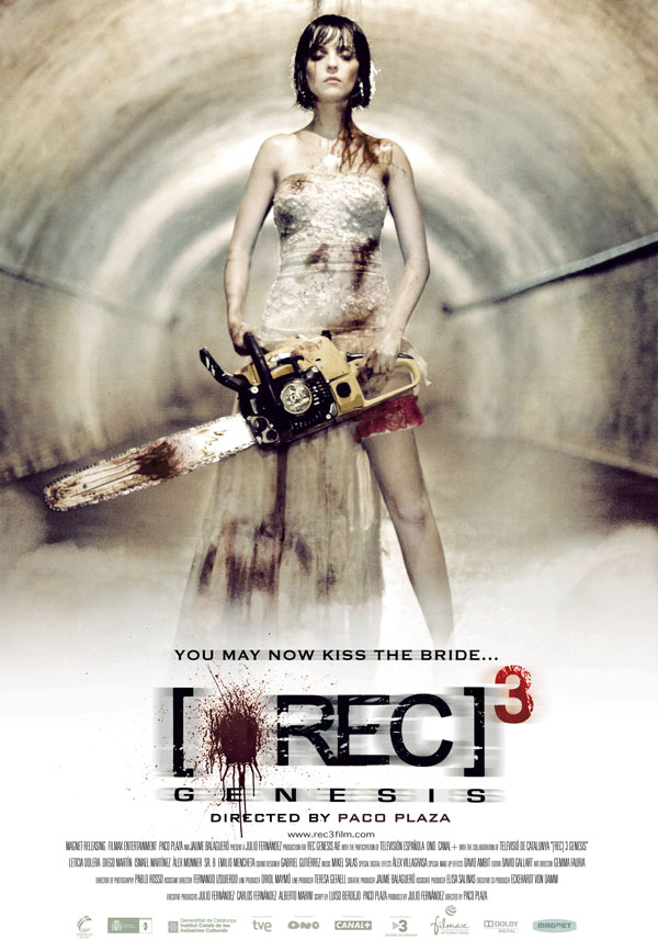 New Rec 3: Genesis Red Band Trailer Brings the Red Stuff