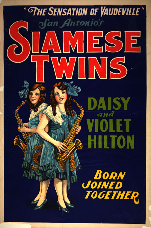 Leslie and Robert Zemeckis Shooting Documentary on Freaks stars Daisy and Violet Hilton - Bound by Flesh