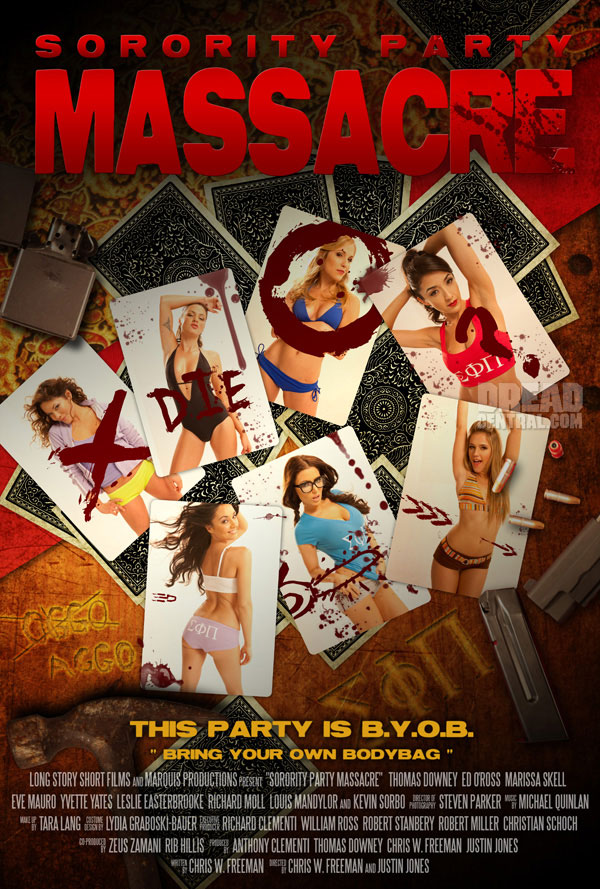 Exclusive: First Look at the Poster for Sorority Party Massacre