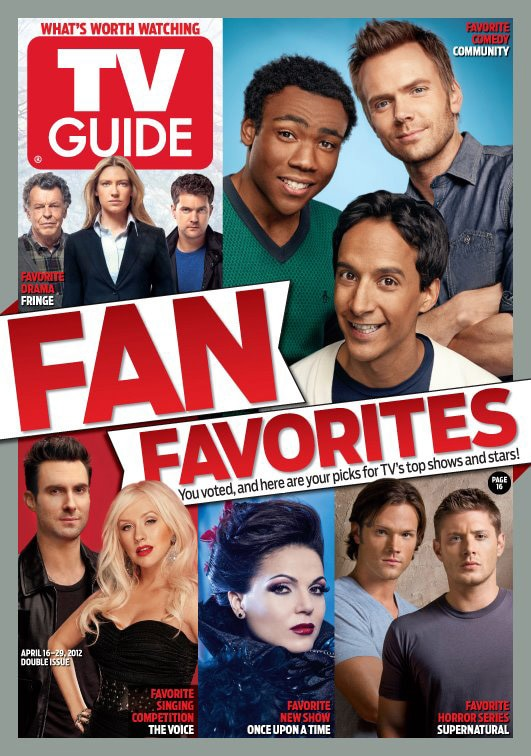 Supernatural Named TV Guide's Fan Favorite Horror Series