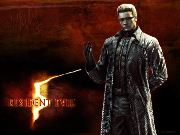 Get Albert Wesker on The Walking Dead