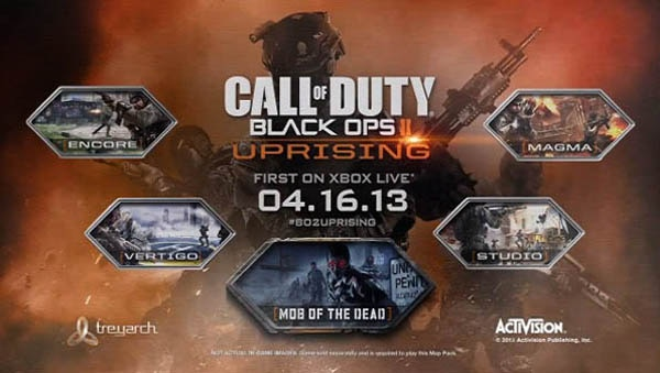 Cthutube zombie game news call of duty black ops ii uprising of the discounted bundle offered at 4000 microsoft points a discount of 800 microsoft points off the individual purchase of all four dlc map packs gumiabroncs Choice Image