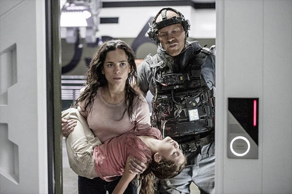 Matt Damon Has His Head Checked for Elysium