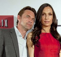 Exclusive Interview: Co-Stars Famke Janssen and Dougray Scott Talk Hemlock Grove